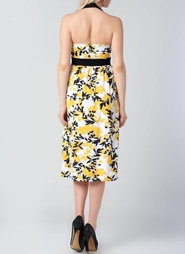 Asymmetry Elbise Sarı